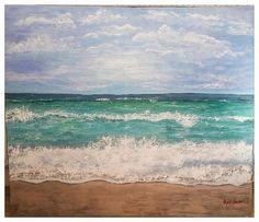 """Vitamin sea"" Acrylic 60x70"