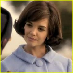 """Katie Holmes as Jackie in """"The Kennedys"""""""