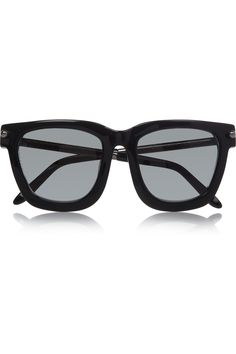 fa818bf04a6 Alexander Wang - Square-frame acetate and metal sunglasses