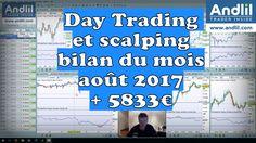 Mon bilan du mois d'août en vidéo : +5833€ : https://www.andlil.com/day-trading-et-scalping-bilan-du-mois-aout-2017-5833e-201889.html #bourse #trading #dax30 #scalping #daytrading