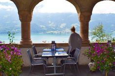 Restaurant with a View <3 at St. Beatus