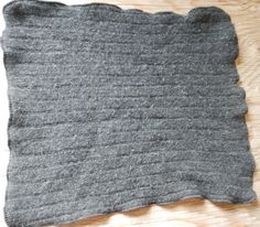 Wool baby changing table mat puddle pad EC elimination communication cloth diaper mattress protector upcycled repurposed sweater solar made. $17.00, via Etsy.