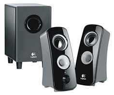Logitech Z323 Speaker System - 30 W RMS - 55 Hz - 20 kHz . . . (Y54715)