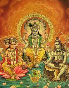 Brahma   ... Setas para o infinito: Invocações a Brahma, Vishnu, Shakti e Shiva