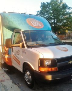 The Techmobile @ the Pop-Up Hot Spot event at the Free Library