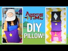 DIY ADVENTURE TIME PILLOWS