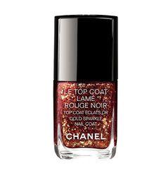 Top Coat Lamé Rouge Noir, Chanel