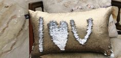 @avivastanoff - IHFC, IH606 InterHall, Mermaid Sequin Pillow #DesignOnHPMkt #HPMKT #homedecor