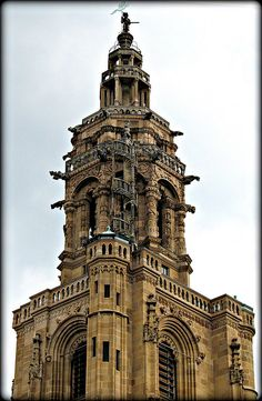 Kilianskirche turm, Heilbronn, Germany