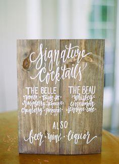 Kelly & Chris // Jodi Miller Photography // Vertias Winery #weddinginspiration #weddingideas #signaturecocktails