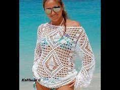 Blusa em Croche Selena Gomez - Aula1- Motivo 1 - YouTube