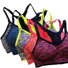 Yoga Bra Padded Bras City Pattern Gym Bra Yogi Bra Workout Bra Padded Sports Bra