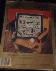 Candamar Designs Counted Cross Stitch Sealed Kit Vintage The Sporting Life  #CandamarDesigns
