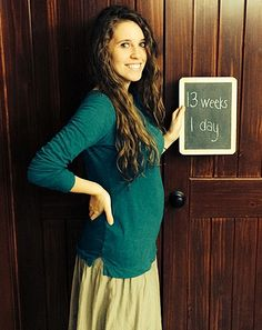 "Jill Duggar Pregnant: Baby Bump at 13 Weeks Is Size of ""Georgia Peach"" - Us Weekly"