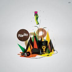 R B M  -  Portƒólio by Estúdio Formidable , via Behance