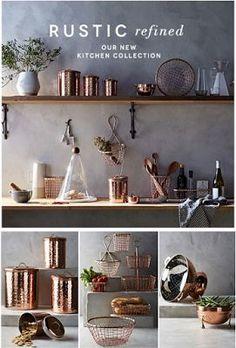 86 best copper kitchen accents images decorating kitchen kitchen rh pinterest com