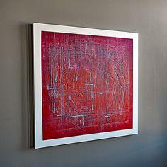 Mixed medium artwork created by Canadian contemporary artist M Degelman