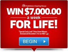 Enter our free online sweepstakes and contests for your chance to take home a fortune! Will you become our next big winner? Instant Win Sweepstakes, Online Sweepstakes, Lotto Winning Numbers, Lottery Winner, Lotto Lottery, Win For Life, Winner Announcement, Congratulations To You, Publisher Clearing House