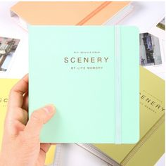Scenery of life memory Instax mini album.