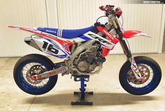 Honda CRF 450 Supermoto 2017