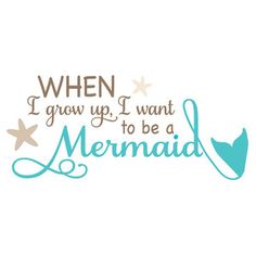 Silhouette Design Store - View Design #146495: i want to be a mermaid