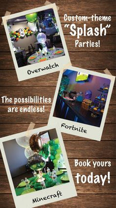 Searching For Boys Birthday Party Ideas In Madison WI Give Us A Call