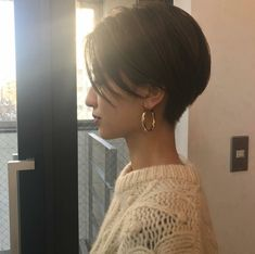 Popular Short Haircuts 2018 – 2019 - Love this Hair Korean Short Hair, Short Hair Cuts, Love Hair, Great Hair, Hair Inspo, Hair Inspiration, Popular Short Haircuts, Shot Hair Styles, My Hairstyle