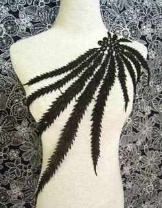 Black lace applique , Venice Lace Applique ,Jewelry Design on Etsy, $4.35 AUD