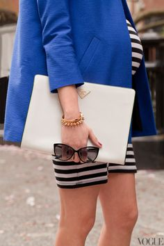 Business case, stripes and bump #bumpychic