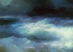 Mesmerizing Translucent Waves from 19th Century Paintings - My Modern Met