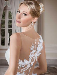 Vestidos de noiva - Coleção Callas (9) Detalhe costas