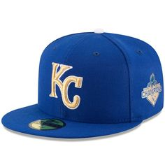 a8fa430c813c7 Kansas City Royals New Era Royal Authentic Collection On Field Opening Day 59FIFTY  Fitted Hat
