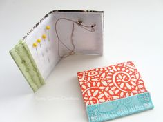 Matchbook sewing kit...would be cute with a tiny pair of scissors, buttons and safety pins.