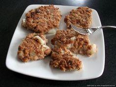 Delicious tuna pattie recipe. Healthy food can taste good - yum!