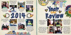 credits: Year In Review - 2013 #1 by Cornelia Designs Highlight Reel Bundle by Bella Gypsy Designs Highlight Reel Sentiments by Bella Gypsy Designs  #digitalscrapbooking #digiscrap #scrapbooking