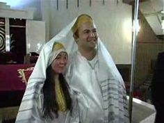A Chinese Jewish wedding in Jerusalem. beautiful! the groom says something strange toward the end of the video. i'm SURE he was out of his mind with excitement at his wedding & it just came out wrong. I do wonder why it wasn't edited out, though.  you'll know it when you hear it.
