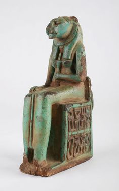 Sekhmet figure Year: 712 BC - 395 AD, Late Period, 26th - 31st Dynasties Location: Ancient Egypt Accession Number: 2007.157...