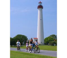 Cape May Lighthouse, July 2013, with Kristen, Ben, Adam, and Alex.