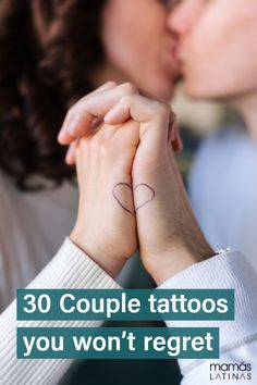 30 Couple tattoos you won't ever regret because they work even if you break up. Pair Tattoos, Friend Tattoos, Great Tattoos, Sexy Tattoos, Unique Tattoos, Body Art Tattoos, Tattoos For Guys, Thigh Tattoos, Inspiring Tattoos