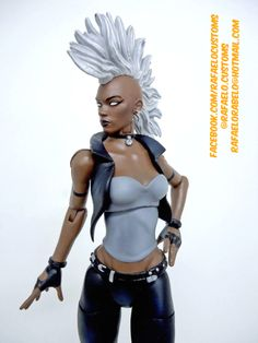 Storm Mohawk V2 (Marvel Legends) Custom Action Figure