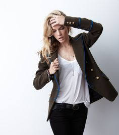Love the new blazer collection by former Shopbop Fashion Director Kate Ciepluch  http://shoplaveer.com
