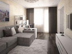 Дизайн однокомнатной квартиры - 95 фото оригинального оформления