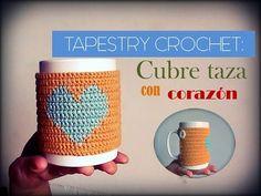 Aprende a tejer este precioso abrigo o cubretaza tejido con la técnica del TAPESTRY crochet o también llamado jacquard crochet. OTROS PATRONES CON LA TÉCNICA...