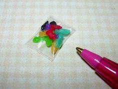 Miniature Lola Originals Gummi Toys Candies, Loose: DOLLHOUSE 1/12  Scale #LolaOriginals