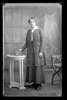 Portrait of a woman, c. 1910--Public Record Office of Northern Ireland