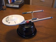 Building the Starship Enterprise from useless office supplies