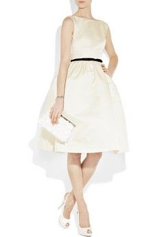simple and sophisticated dress by jason wu  #wedding