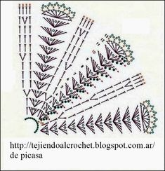 crochet chart for neck warmer Crochet Poncho Patterns, Crochet Chart, Crochet Stitches, Crochet Collar, Crochet Blouse, Crochet Caplet, Bolero Pattern, Cape Pattern, Ribbon Design