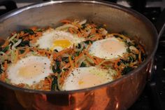 This page contains several recipes, but what I most want to try is the Sunny-Side Saute, pictured.