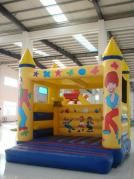 Totally having a jumping castle
